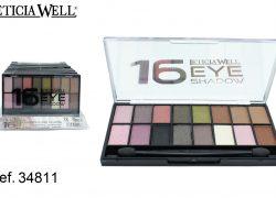 Sombra de Ojos 16 Colores Ref. 34811