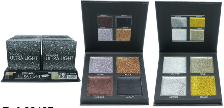 Paleta Glitter Crema Ref. 33437