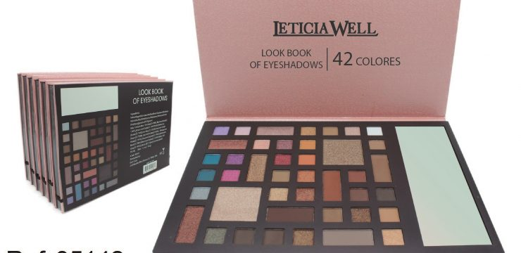Paleta Look Book Sombras 42 colors Ref. 35142