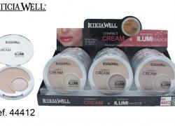 Maquillaje Compacto + Iluminador  Ref. 44412