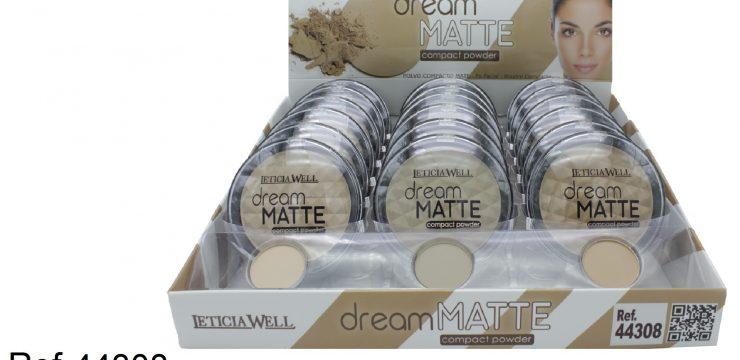 Ref. 44308 Polvo Compacto DREAM MATTE
