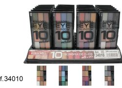 Ref. 34010 Sombra Ojos MATES/ BRILLO 10 colores